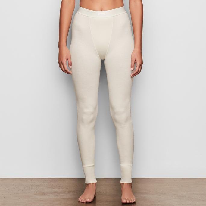 Cotton Rib Thermal Legging