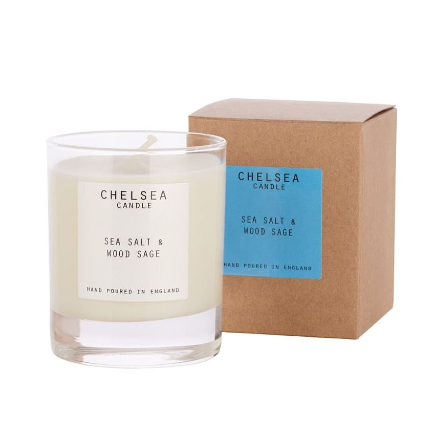Large Sea Salt & Wood Sage Candle