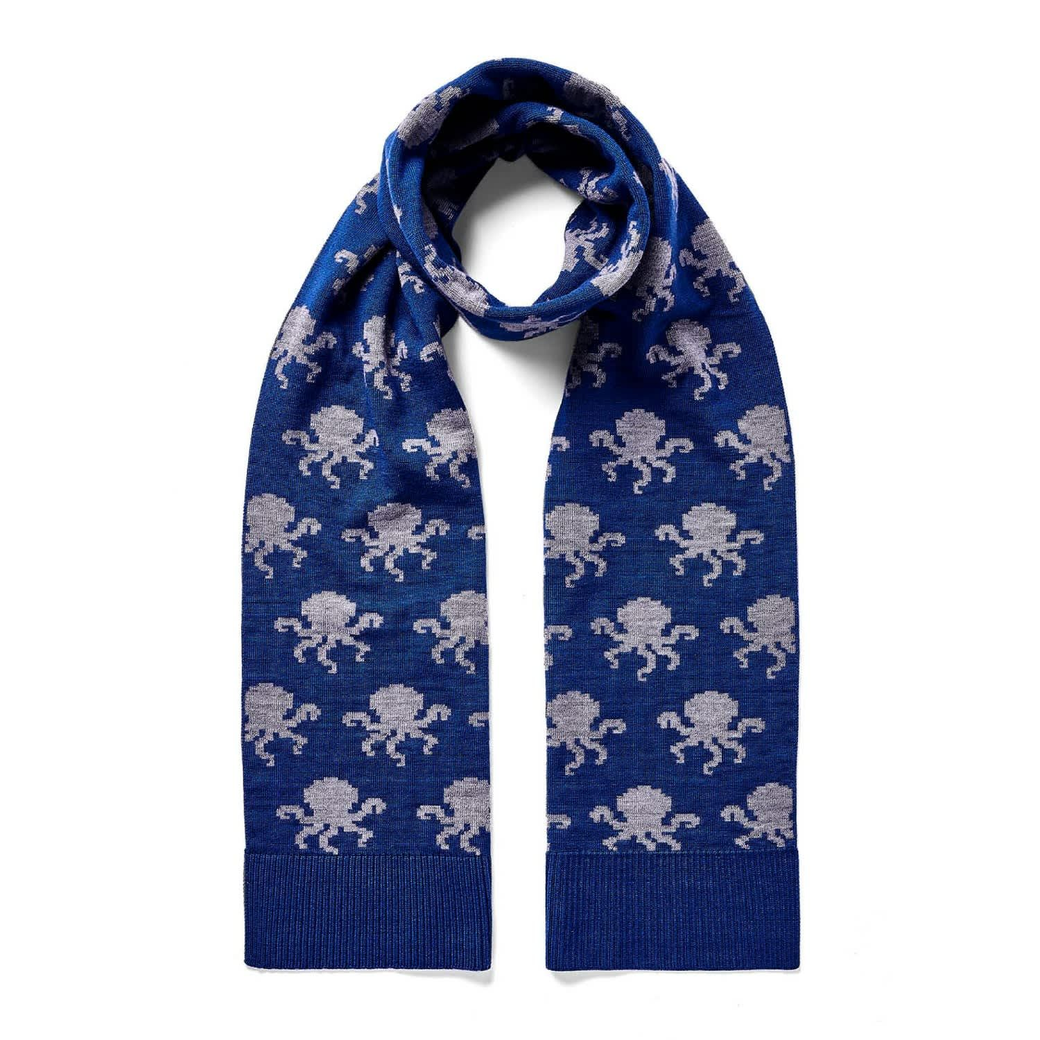 What's Kraken Merino Wool Scarf