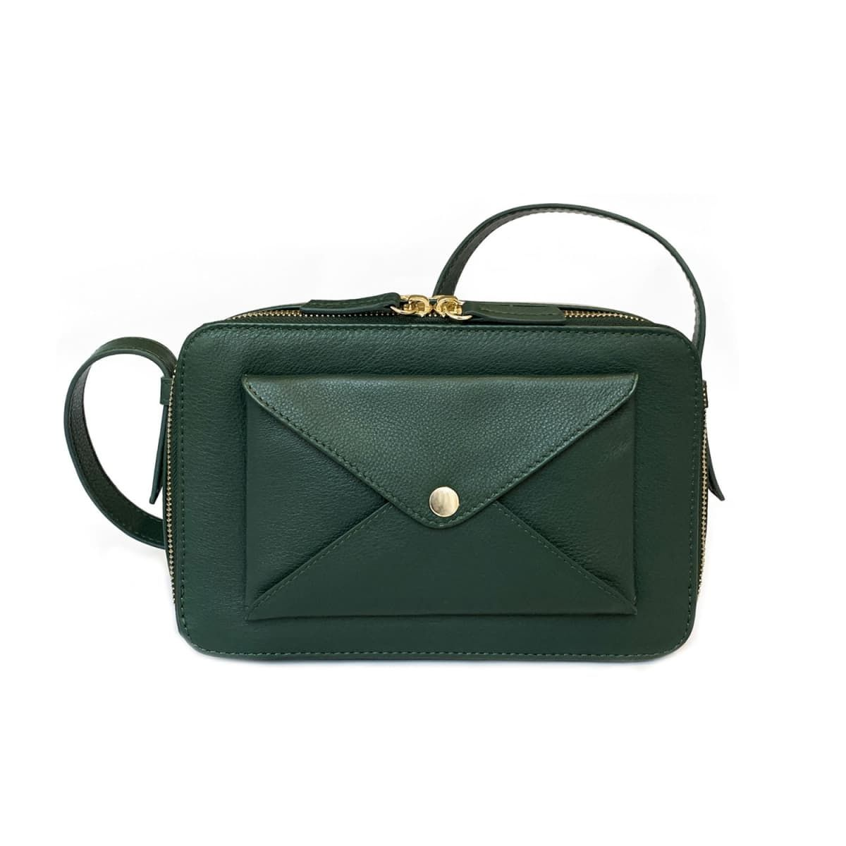 Quad 02 Forest Green Bag